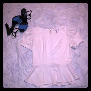 Forever 21 ivory top